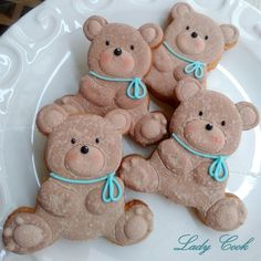 Biscoitos Chá de Bebê
