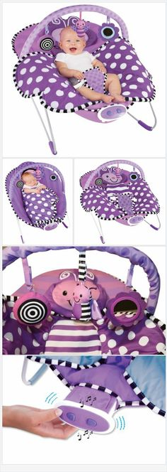 Soothes and Entertains your child The Sassy Cuddle Bug Bouncer has a delicate and encouraging implicit snuggle cover and offers a curiously large, supporting seat with infant headrest. The bouncer likewise offers 3 formatively proper hanging toys that are fun and locks in. The well being outfit, non-slip feet and tough legs keep infant secure. Relieving bedtime songs and delicate vibrations make this an impeccable bouncer for the child.