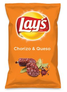 Wouldn't Chorizo & Queso be yummy as a chip? Lay's Do Us A Flavor is back, and the search is on for the yummiest flavor idea. Create a flavor, choose a chip and you could win $1 million! https://www.dousaflavor.com See Rules.