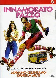 Innamorato pazzo - Un film di Pipolo, Franco Castellano. Con Adriano Celentano, Ornella Muti, Adolfo Celi, Milla Sannoner, Enzo Garinei.  Commedia, Ratings: Kids+13, durata 102' min. - Italia 1981.