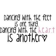 dancing from your heart