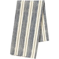 Pehr Designs Corsica Stripe Tea Towel, Navy/Stone - Navy/Stone (52 PLN) ❤ liked on Polyvore featuring home, kitchen & dining, kitchen linens, navy blue kitchen towels, striped tea towels, striped kitchen towels, navy kitchen towels and pehr