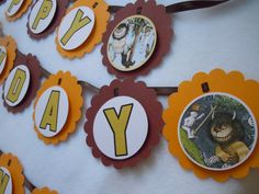 Where the Wild Things Are birthday banner