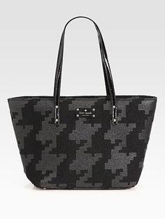 Kate Spade NY Small Harmony Printed Felt Tote Bag (11.5 W x 10.25 H x 5.75 D) - $325.00
