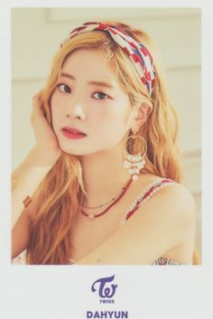 "Twice-Dahyun 1st Arena Tour 2018 ""BDZ"" Photo Card Nayeon, South Korean Girls, Korean Girl Groups, Twice Fanart, Twice Once, Twice Dahyun, Twice Kpop, One In A Million, K Idols"