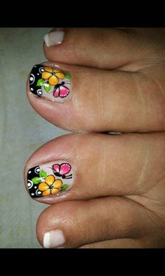 Discover recipes, home ideas, style inspiration and other ideas to try. Aycrlic Nails, Sexy Nails, Gel Manicure, Pink Nails, French Manicure Designs, Pedicure Designs, Toe Nail Designs, Cute Pedicures, Nails For Kids