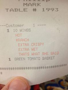 best receipt ever