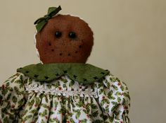 Christmas gingerbread girl by TheChristmasDen on Etsy