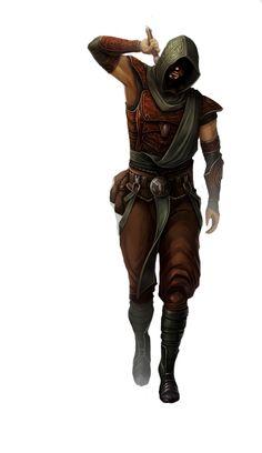 m Rogue Assassin Leather Sword Hood midlvl