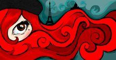 Sous le ciel de Paris. Año 2010. Ilustración Bamboo.