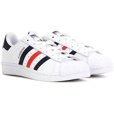 e422a7f2e03 Adidas Superstar Foundation Leather Sneakers ( 98) ❤ liked on Polyvore  featuring shoes