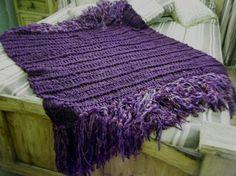 Deep Purple Blanket Purple Throw Blanket Dark    Grandin Road Color Crush on Purple Thistle