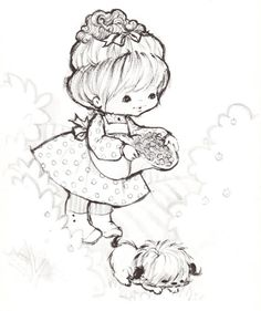 Coloring Book~Little Charmer Coloring Book - Bonnie Jones - Álbuns da web do Picasa