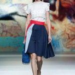 MBFWMadrid 2014 http://www.mujerespacio.com/moda/ropa-moda/todos-los-desfiles-de-la-mercedes-benz-fashion-week-madrid/
