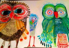 'Beverly Owls' by Jessie Breakwell