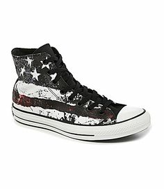 Converse Mens Chuck Taylor AllStar Flag HighTop Sneakers #Dillards