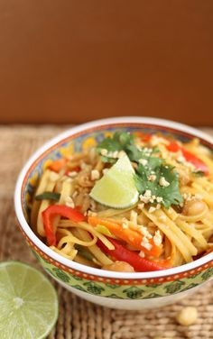 Slow Cooker Peanut Pasta – Any pad thai lover will enjoy this One Pot Thai Peanut Pasta that mimics the Thailand dish's flavor with a different spin on the noodle. The best part? This version has 335 calories, 436 mg sodium and 14 grams of protein. Get the recipe from Your Cup of Cake.