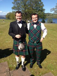 'Kilts are a great conversation starter wherever in the world you are. Ladies love them.. And my Houston tartan trousers in my picture!' Customer Scott Carmichael