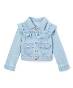 Blue Denim Jacket - Kids & Tween #zulily #zulilyfinds