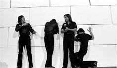 Pink Floyd in front of the wall, 1980