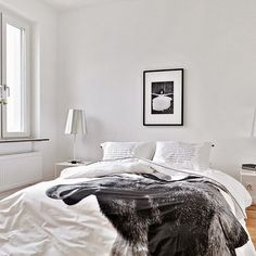 Fancy - Moose Duvet Cover by Nord