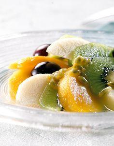 Pasjonsmarinert frukt
