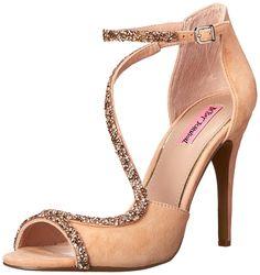 Betsey Johnson Women's Gliimer Sandal *** To view further, visit now : Block heel sandals