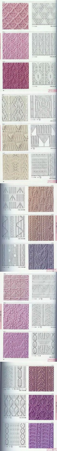 A Russian Pinterest post, click on the picture and it will take you to a lot more patterns