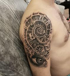 #watch #eye #tattoo