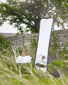 MirrorDeco — Psyche - Full Length Mirror with Metal Stand Black Decorative Mirrors, Large Mirrors, Full Length Mirror Stand, Window Pane Mirror, Dressing Mirror, Standing Mirror, Metal Mirror, Sun Lounger, Contemporary Mirrors