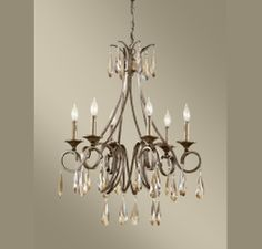 Feiss Reina 6 - Light Single Tier Chandelier