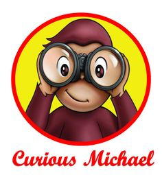 Custom Personalized Curious George Shirt   by CherryCheeksBoutique, $15.00