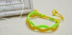 DIY Infinity Friendship Bracelet