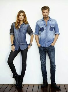 Hungarian fashion model Barbara Palvin continues her association with Turkish label Mavi Jeans and features for the November 2013 lookb. Barbara Palvin, Denim Fashion, Fashion Models, Fashion Outfits, Summer Denim, Spring Summer, Turkish Fashion, Utila, Mens Style Guide