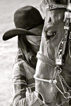 Western Horse & Cowgirl Love | Megan etcheberry - horsie love
