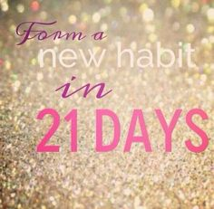 Tomorrow, I'm embarking on a 21 Day Challenge. Why 21 days? Studies show that it takes 21 days to develop a new habit. I'll be starting the 21 Day Fix, the newest program from Beachbody. If you rea...