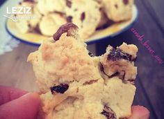 Perişan (Kopuk) Kurabiye Pastry Art, Sweet Recipes, Yogurt, Deserts, Muffin, Food And Drink, Ice Cream, Yummy Food, Cookies