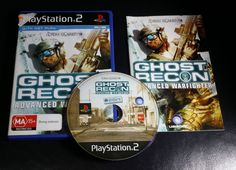 Ghost Recon Advanced Warfighter Sony PlayStation 2  - PAL -  PS2  FREE Postage