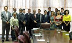 O Presidente da Fenapef, Luís Boudens, participou na tarde de hoje, 11,de reunião com o Ministro da Justiça e Cidadania, Alexandre de Moraes, juntamente com representantes de outras entidad ...