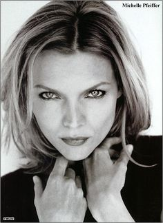Michelle Pfeiffer. Serious and sultry. Striking and sharp. And there will be no better Catwoman, am I right?