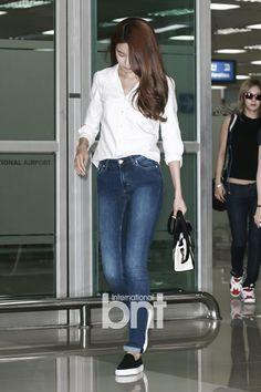 SNSD Sooyoung Airport Fashion 140630 2014