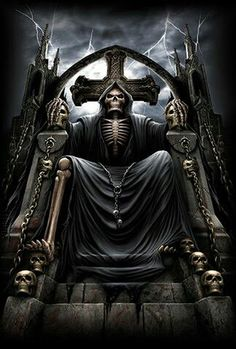 WALLPAPERS - Gothic, skulls, death, fantasy, erotic and animals: death Grim Reaper Art, Grim Reaper Tattoo, Gothic Wallpaper, Skull Wallpaper, Trendy Wallpaper, Tatuaje Grim Reaper, Evil Skull Tattoo, Monster Pictures, Skeletons