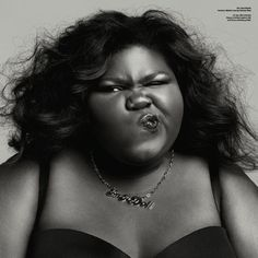 GABOUREY SIDIBE'S RECENT HARPER'S BAZAAR PHOTOSHOOT PROVES HOW FAR WE STILL HAVE TO GO IN PROMOTING DIVERSITY IN FASHION
