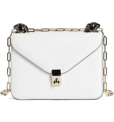 a28827f53eca Main Image - Valentino Small Panther Leather Shoulder Bag Valentino Bags