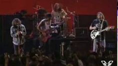 Neil Young & Pearl Jam - Rockin' In The Free World (1993 at the MTV Music Awards), via YouTube.  This is all kinds of awesome.