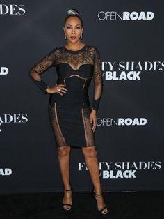 On the Scene: The 50 Shades of Black LA Premiere with Vivica A. Fox in La Perla, Draya Michele in Kyna Collection, Monique Coleman in Bec & Bridge, and More!