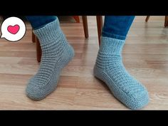 çok kolay yeni model erkek patik yapımı/bot patik modelleri/patik modelleri - YouTube Crochet Slippers, Socks, Booty, Knitting, Easy Patterns, Youtube, Fashion, Templates, Baby Boots