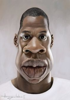 Jay-Z #Caricature #FunnyFaces