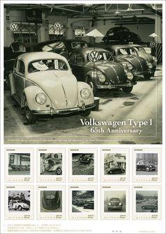 """公益財団法人 日本郵趣協会さんのツイート: """"フレーム切手「フォルクスワーゲン Type1 65周年フレーム切手セット」が7月17日(火)から、全国の郵便局と郵便局のネットショップで申込受付が開始されます。1/64スケールミニチュアモデル(Type1・The Beetle各1台)付きです。… https://t.co/eXtPqLyaE0"""""""