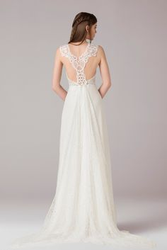 Wedding dress Robe de mariée Anna Kara Ila chez Plume Paris